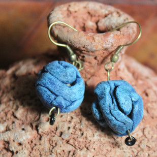 Coiled by Aranya Earthcraft, Art Jewellery, Ethnic Earring