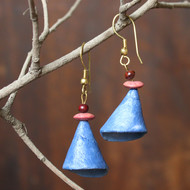 cone by Aranya Earthcraft, Traditional Earring