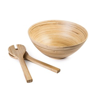 Natural Salad Bowl Bowl By The Yellow Door