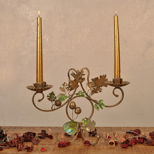 Autumn Candle Holder Candle Stand By The Yellow Door