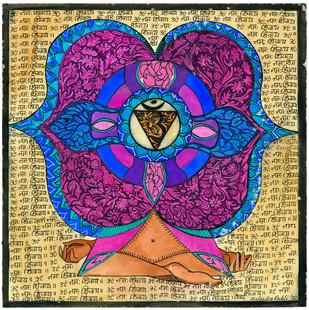Untitled by Malavika Reddy, Digital Digital Art, Digital Print on Canvas, Beige color