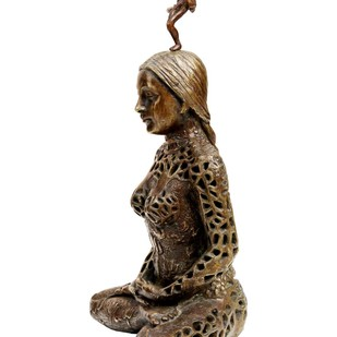 Kundalini by Seema Kohli, Decorative Sculpture | 3D, Bronze, White color
