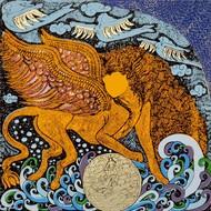 Yogini2 serigraph on arche paper 10x10in  1143