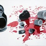 Bloodline  24x36   oil on canvas   oct 2012 half size