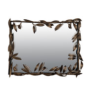Leaf Mirror- Large Wall Decor By The Yellow Door