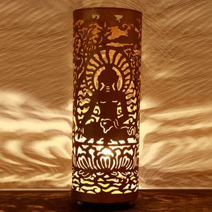 Buddha Lamp Gold : Small Table Lamp By The Yellow Door