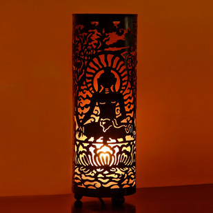 Buddha Black Table Lamp : Large Table Lamp By The Yellow Door