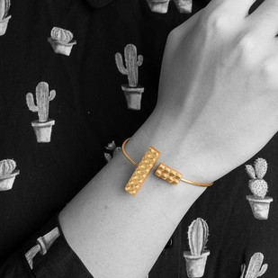 Lego Band by Studio Kassa, Art Jewellery, Contemporary Bracelet