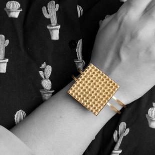 Lego Chunk Bracelet by Studio Kassa, Art Jewellery Bracelet