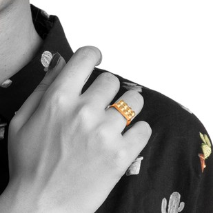 Lego Uno by Studio Kassa, Art Jewellery, Contemporary Ring