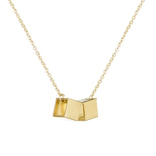 Double Cube Pendant By Studio Kassa