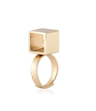 Cube Ringlet Ring By Studio Kassa