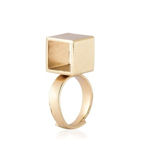 Cube Ringlet by Studio Kassa, Art Jewellery, Contemporary Ring