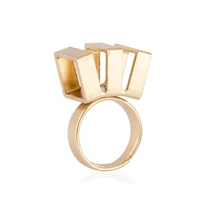 Triple Slash by Studio Kassa, Art Jewellery, Contemporary Ring