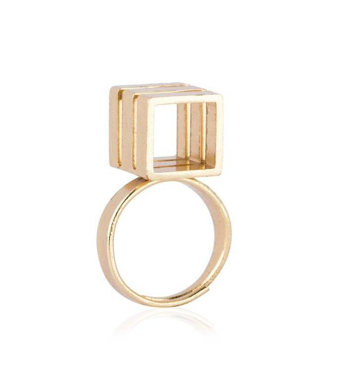 Triple Tower Ring By Studio Kassa