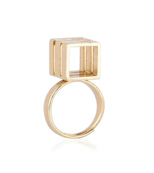 Triple Tower by Studio Kassa, Art Jewellery, Contemporary Ring