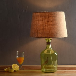 Alvin Green Table Lamp Table Lamp By Fabuliv