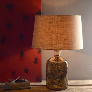 Galvin Amber Table Lamp Table Lamp By Fabuliv