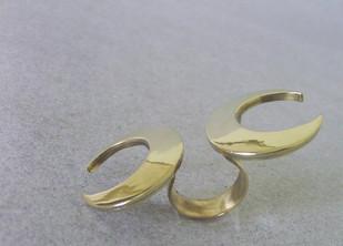Chandrakala by Chicory Chai, Art Jewellery, Contemporary Ring