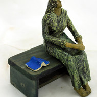 Lady resting 1
