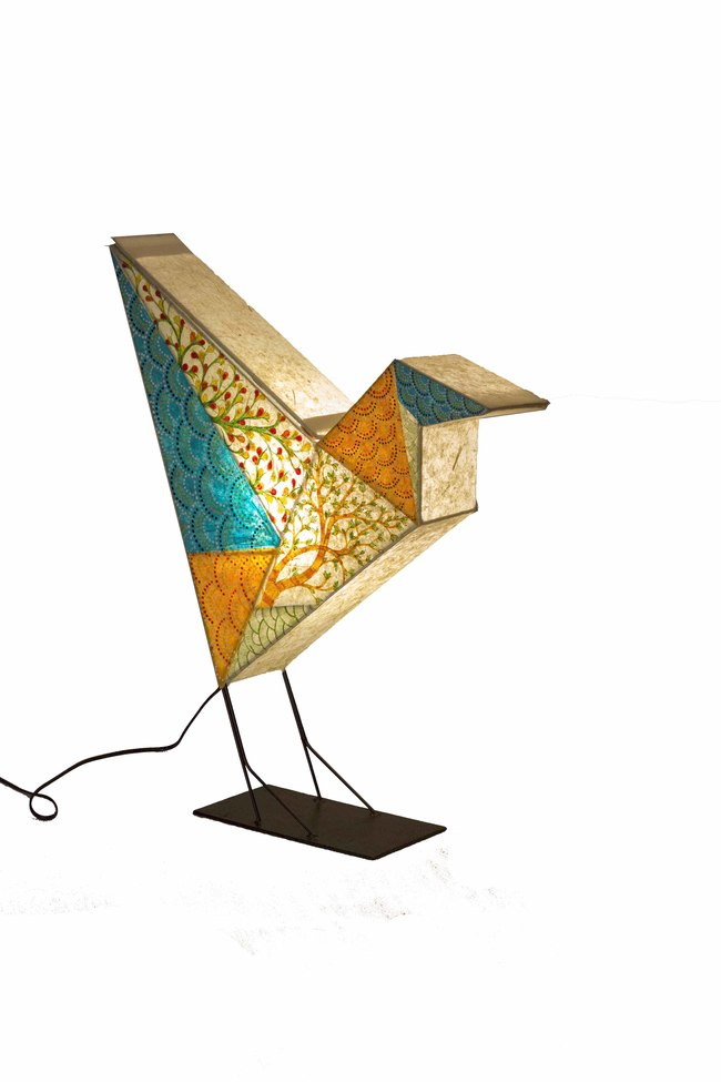 Bird lamp small