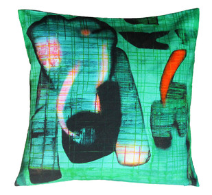 Deepak Shinde Cushion cover2 Cushion Cover By indian-colours