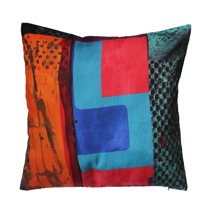 Brinda Miller Cushion Cover2 Cushion Cover By indian-colours