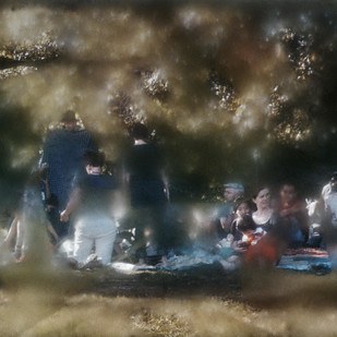 Untitled (Prospect Picnic) by Gautam Kansara, Digital Digital Art, Digital Print on Archival Paper, Gray color