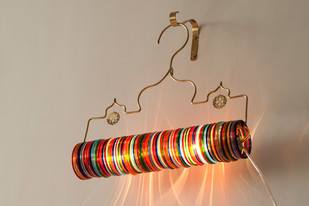 Thief of Baghdad Choori Lamp : Multicolor Wall Decor By Sahil & Sarthak