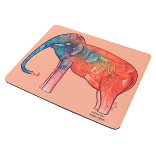 Elephant series Babu Xavier Mousepad Mousepad By indian-colours