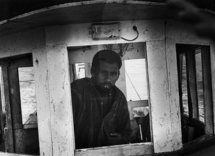 Alang: Pilot by Anirban Dutta Gupta, Image Photograph, Digital Print on Enhanced Matt, Gray color