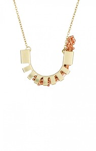 Flora Hemicycle 2-Copper by Studio Kassa, Art Jewellery, Contemporary Pendant