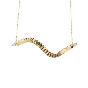 Flora Swirl silver by Studio Kassa, Art Jewellery, Contemporary Pendant