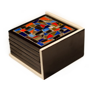 BLUE ORANGE Table Ware By Vandeep Kalra