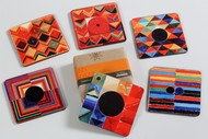 S.H.Raza Coaster (Set of Six) Coaster Set By Vadehra Bookstore