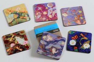 A Ramachandran Coasters (Set of Six) Coaster Set By Vadehra Bookstore