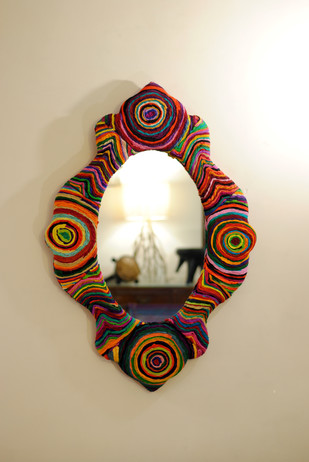 Katran Victorian Frame Mirror Looking Mirror By Sahil & Sarthak