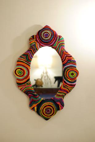 Katran Victorian Frame Mirror Looking Mirror By Sahil & Sarthak