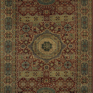 Imperial Knots Rust Persian Handknotted Carpet Carpet and Rug By Imperial Knots