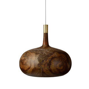 Chappa & Chippa Hanging lamp medium Artifact By Arpan Patel for Studio Kassa