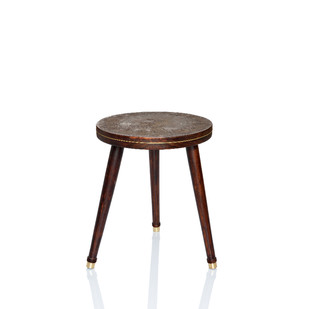 Chappa & Chippa Table small Artifact By Arpan Patel for Studio Kassa