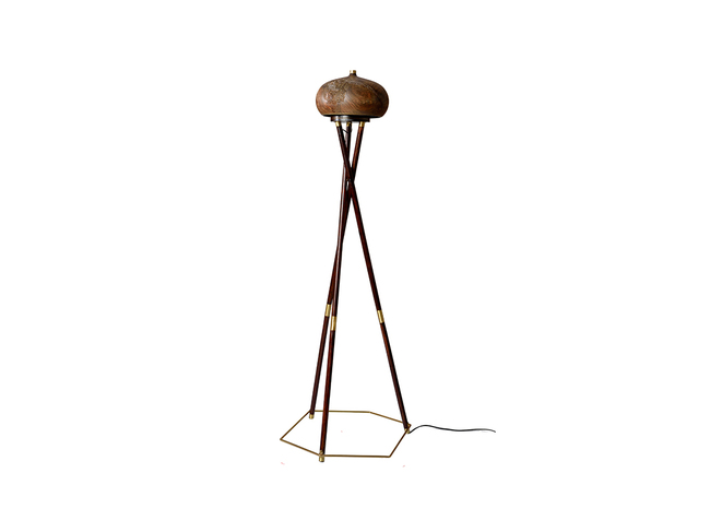 Chappa & Chippa Table lamp Artifact By Arpan Patel for Studio Kassa