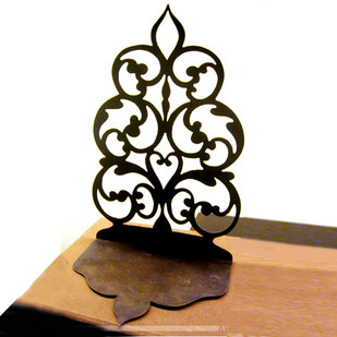 Sandook Bookend/Votive Holder T-Light and Votive Holder By AKFD