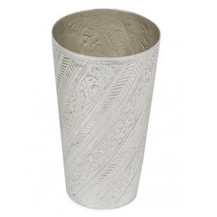 Nafees Lassi Glass Bel Kalai Serveware By AnanTaya