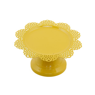 ELAN SCALLOP CUPCAKE STAND-PALE YELLOW Serveware By living-with-elan