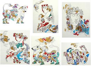 The World of Ravindra Salve Artwork By Ravindra Salve