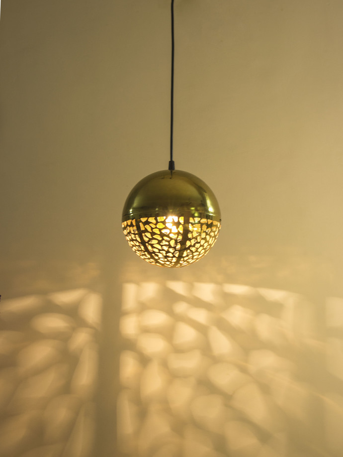 Rudraksh Hanging Light Luner Ceiling Lamp By Sahil & Sarthak