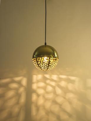 Rudraksh Hanging Light - Luner Ceiling Lamp By Sahil & Sarthak