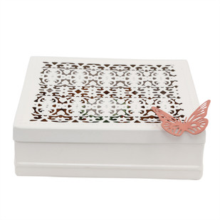 ELAN CHANTILLY GIFT BOX-IVORY Decorative Box By living-with-elan