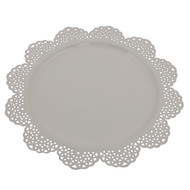 ELAN SCALLOP PLATTER-IVORY Platter and Plate By living-with-elan